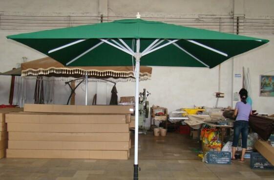 3MX3M Aluminium Umbrelals,3m Square Patio Umbrellas,3m Outdoor Umbrellas,10ft  Garden Umbrellas,10ft Aluminium Market Umbrellas